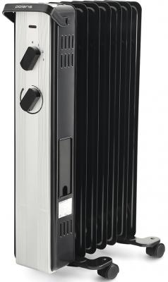 Масляный радиатор Polaris PRE A 0920 2000 Вт чёрный масляный радиатор polaris pre a 0920 2000 вт чёрный