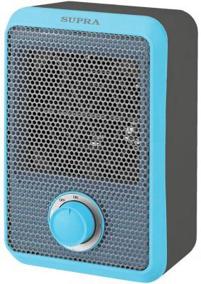 Тепловентилятор Supra TVS-F08 800 Вт термостат серый синий обогреватель supra tvs 220f 2 светло серый