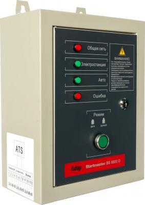 Автоматика FUBAG BS 6600 D startmaster 400В для бензиновых электростанций BS 6600 DA ES автоматика fubag ds 9500 startmaster