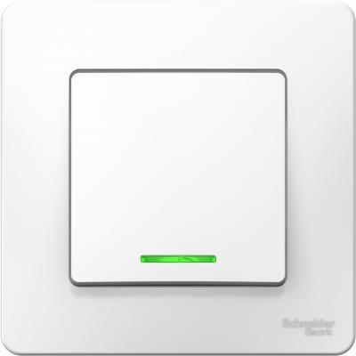 Выключатель Schneider Electric Blanca 10 A белый BLNVS010111