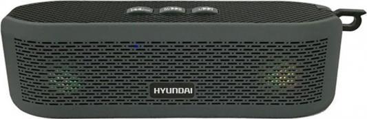 Колонки Hyundai H-PAC180 1.0 черный 6Вт беспроводные BT place not race