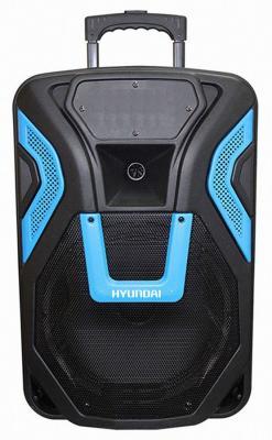 Минисистема Hyundai H-MC120 черный 300Вт/FM/USB/BT/SD/MMC hyundai h mc120 черный
