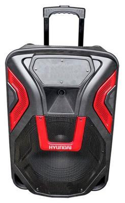 Минисистема Hyundai H-MC140 черный 500Вт/FM/USB/BT/SD/MMC аудио усилитель oem dhl fedex 20 usb sd fm 2 5 12 v 11