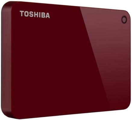 Накопитель  жестком магнитном диске Toshiba Внешний жесткий   HDTC920ER3AA Canvio Advance 2ТБ .5 USB . красный