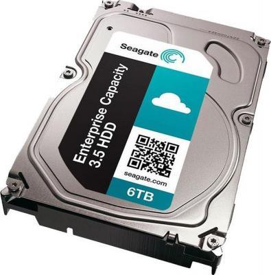 Накопитель на жестком магнитном диске Seagate Жесткий диск Exos 7E8 HDD 6TB Seagate Enterprise Capacity 4Kn ST6000NM0105 3.5 SAS 12Gb/s 256Mb 7200rpm жесткий диск toshiba sas 3 0 14tb mg07sca14te enterprise capacity 7200rpm 256mb 3 5