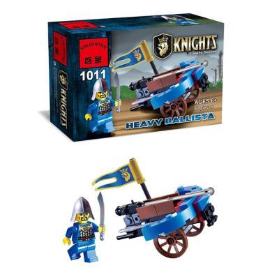 Конструктор ENLIGHTEN BRICK Рыцарь 42 элемента BRICK1011 конструктор enlighten brick trebuchet sqrad 152 элемента brick2304