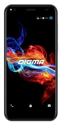 Смартфон Digma Linx RAGE 4G 16 Гб черный LS5040PL