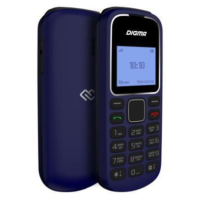 Мобильный телефон Digma Linx A105 2G темно-синий мобильный телефон digma linx a170 черно синий