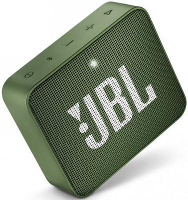 Динамик JBL Портативная акустическая система JBL GO 2 зеленый