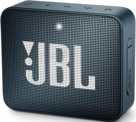 Динамик JBL Портативная акустическая система JBL GO 2 темно-синий