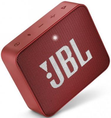 Динамик JBL Портативная акустическая система JBL GO 2 красный