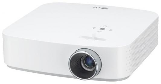 Проектор LG PF50KS 1920х1080 600 люмен 1000000:1 белый (PF50KS.ARUZ) проектор lg pf50ks