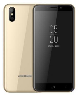 Смартфон Doogee X50 8 Гб золотистый цена и фото