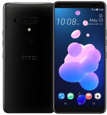 Смартфон HTC U12+ 64 Гб черный (99HANY045-00) смартфон htc u ultra 64 гб белый 99halu071 00