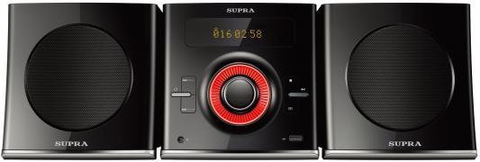Микросистема Supra SMC-29D черный 50Вт/CD/CDRW/DVD/DVDRW/FM/USB/BT