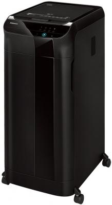 Шредер Fellowes AutoMax 550C (секр.P-4)/фрагменты/550лист./83лтр./скрепки/скобы/пл.карты/CD цена и фото