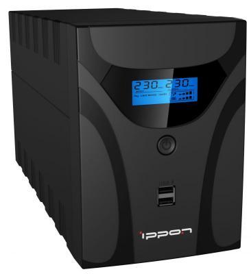 ИБП Ippon Smart Power Pro II Euro 1600 1600VA Черный