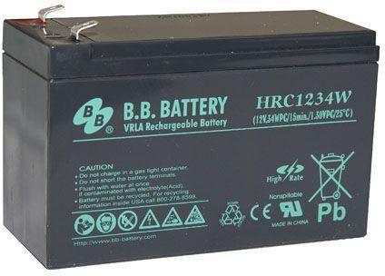 Батарея для ИБП BB HRC 1234W 12В 9Ач батарея для ибп bb hrc 1234w 12в 9ач