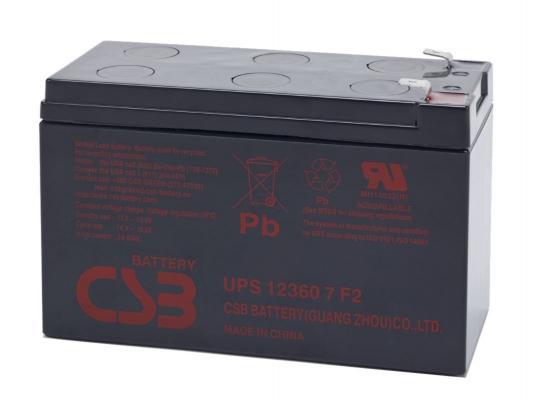 Батарея для ИБП CSB UPS12360 12В 7.5Ач батарея csb hr1221w 12v 4 8ah
