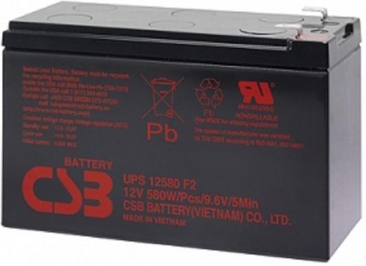 Батарея для ИБП CSB UPS12580 12В 9.4Ач батарея для ибп csb ups12360 12в 7 5ач