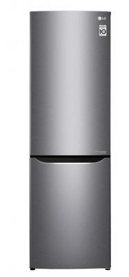 Холодильник LG GA-B419SLJL серебристый холодильник lg ga b489zvck серебристый