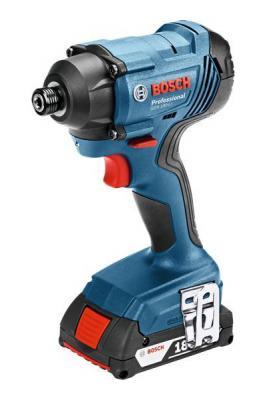 Гайковерт ударный Bosch GDR 180-LI аккум. патрон:держатель бит 1/4