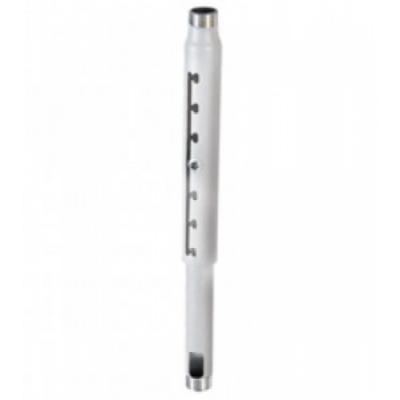 Комплект монтажный CHIEF Штанга потолочная с регулировкой длины (90-115 см) для крепления проектора, 3,63 кг, нагрузка до 226,8 кг, White euromet 09267 штанга удлиннитель для проектора arakno 685 1085 мм серебро