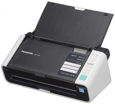 Сканер Panasonic KV-S1037X Wi-Fi (--) A4 белый/черный