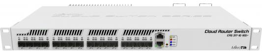 Маршрутизатор Mikrotik CRS317-1G-16S+RM 1x10/100/1000Mbps 16xSFP+