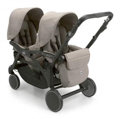 Прогулочная коляска для двойни Cam Twin Pulsar (цвет 759) коляска indigo charlotte duo ch 09 св коричн узор для двойни