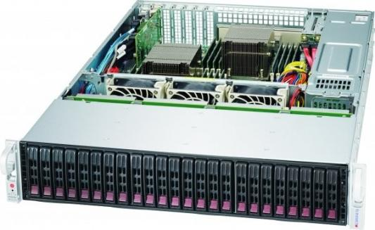 Корпус компьютерный Supermicro Chassis Rack 2U/24x2.5 hot-swap SAS/SATA/1200W джинсы modis modis mo044ebagpe5