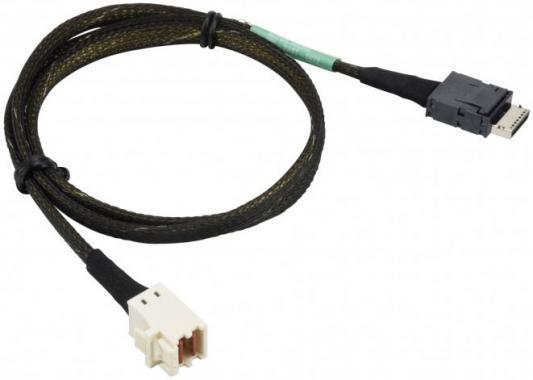 Кабель Supermicro OcuLink V. 1.0 source to MiniSAS HD,INT,PCIe, 70CM,34AWG,RoH кабель hp 2m ext minisas hd sff8644 to minisas hd sff8644 716197 b21