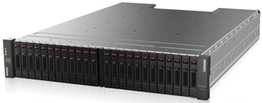 Дисковый массив Lenovo Lenovo ThinkSystem DS2200 SFF FC/iSCSI Dual Controller Unit дисковый массив lenovo lenovo thinksystem ds series sff exp unit
