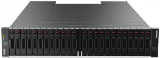 Дисковый массив Lenovo Lenovo ThinkSystem DS4200 SFF FC/iSCSI Dual Controller Unit дисковый массив lenovo lenovo thinksystem ds series sff exp unit