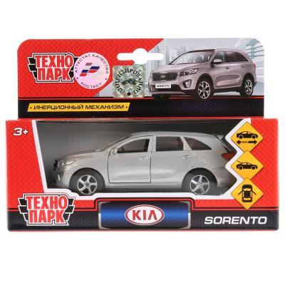 Автомобиль Технопарк KIA SORENTO PRIME МИКС серый SB-17-75-KS(N)-WB фаркоп kia sorento 2002
