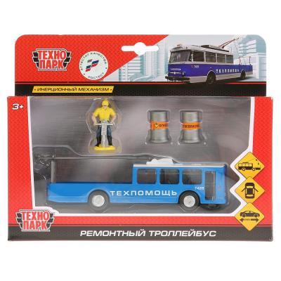 Троллейбус Технопарк ТРОЛЛЕЙБУС РЕМ синий SB-17-80WB цена