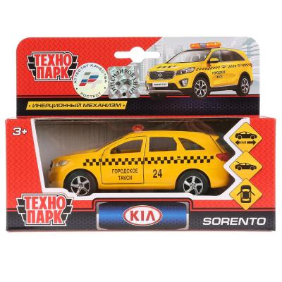 Такси Технопарк KIA SORENTO PRIME ТАКСИ желтый SB-17-75-KS-T-WB игрушка технопарк автокран sb 17 78 a wb
