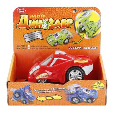 Автомобиль Play Smart МАШИНА-ДИНОЗАВР красный B126-H21070