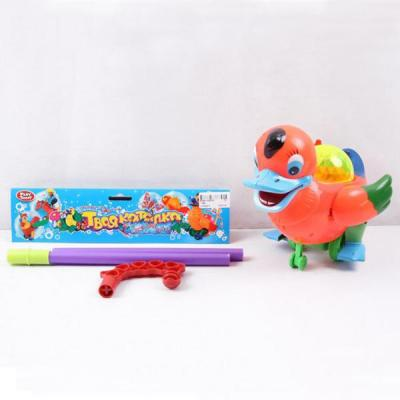 Каталка Play Smart УТОЧКА С ТРОСТЬЮ разноцветный от 1 года пластик B586-H28025 развивающая игрушка play smart каталка кит вертолет разноцветный