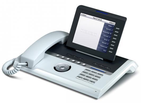 Телефон IP Unify OpenStage 60 T белый (L30250-F600-C112) цена