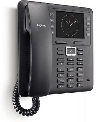 Телефон IP Gigaset MAXWELL 3 черный телефон ip gigaset a540 ip черный