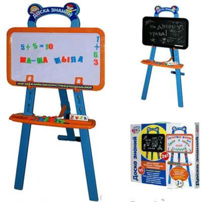 Двусторонняя доска для рисования Play Smart Доска знаний A553-H27027 интерактивная игрушка play smart двусторонняя доска подводный мир разноцветный