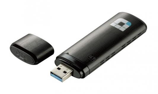 Адаптер D-Link Wireless AC1200 Dual Band USB Adapter адаптер usb netgear a6210 ac1200 usb3 0 a6200