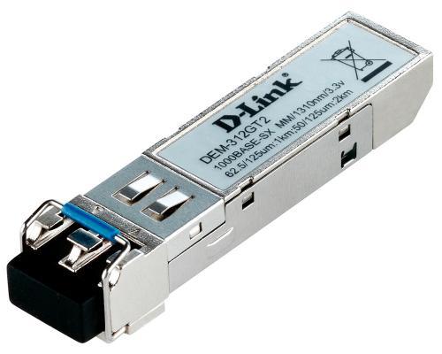 Трансивер сетевой D-Link 1-port mini-GBIC LX Mutli-mode Fiber Transceiver (up to 2km, support 3.3V power) 312GT2 трансивер hpe j4859c procurve gigabit lx lc mini gbic