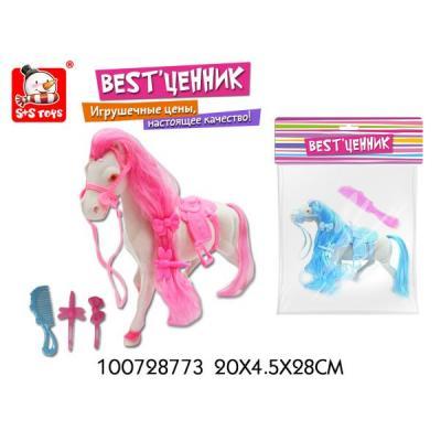 Игровой набор S+S Toys Лошадка в ассортименте каталка s s toys осьминог 0365 в пакете