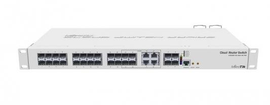Коммутатор 20PORT SFP 4SFP+ CRS328-4C-20S-4S+RM MIKROTIK
