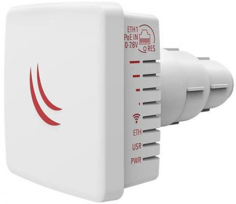 Точка доступа MikroTik RBLDFG-5ACD 802.11acan 600Mbps 5 ГГц 1xLAN LAN белый цена и фото