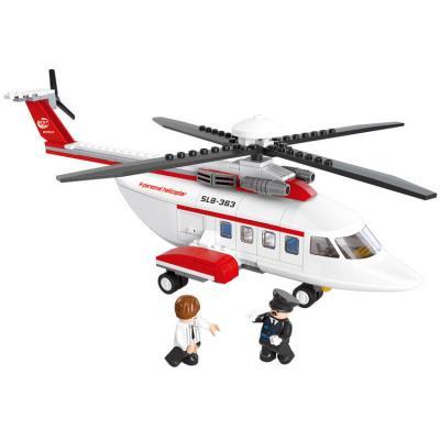 Конструктор SLUBAN Личный вертолет 259 элементов M38-B0363 цена
