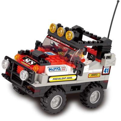 Конструктор SLUBAN Полноприводный автомобиль 167 элементов M38-B0132 конструктор bauer автомобиль 282