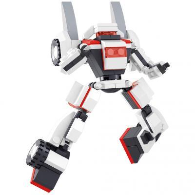 Конструктор SLUBAN Белый тигр 105 элементов M38-B0382